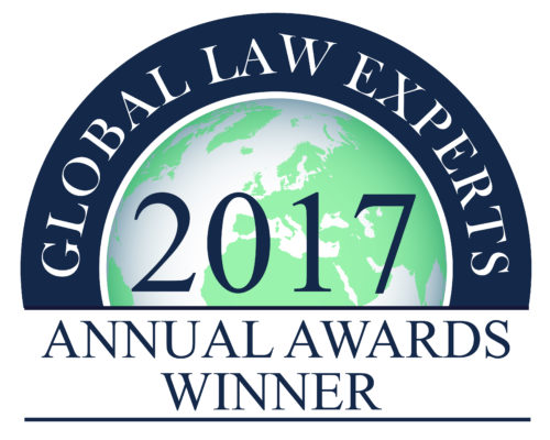 Global Law Experts Legal Award 2017