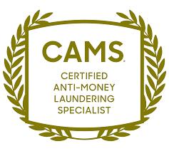 Certified anti-money laundering specialist